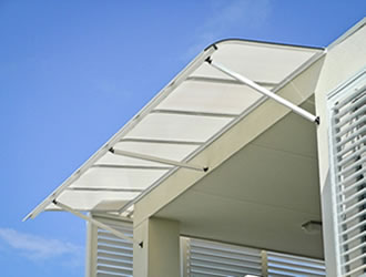 bullnose - carbolite awnings - ozsun shade Systems - Sydney